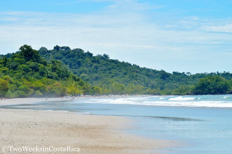 The gorgeous Manuel Antonio Beach | 2 Week Itinerary for Costa Rica