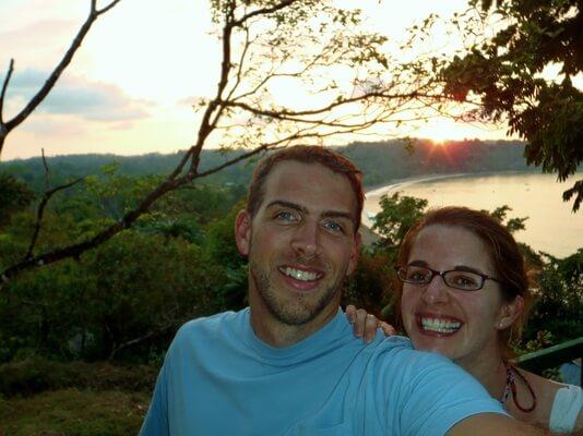 Matt and Jenn Costa Rica Picture