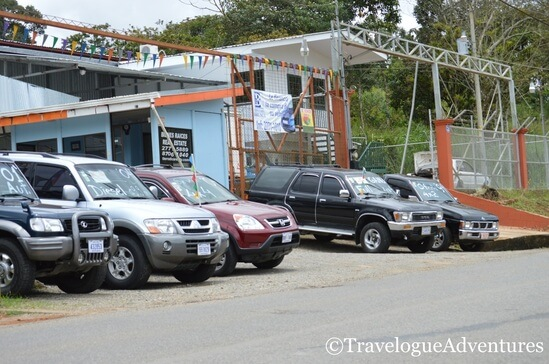 Used car lot Costa Rica picture
