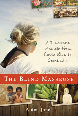The Blind Masseuse Travel Book Cover Picture