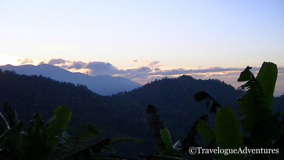Mountains in Costa Rica at Sunrise Picture