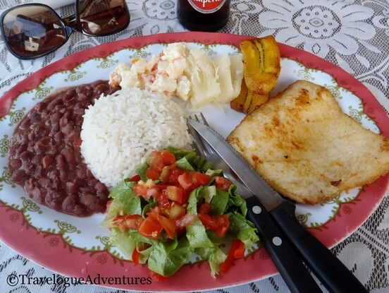 Eat local to save $ - More Tips for How to Save on Travel to Costa Rica