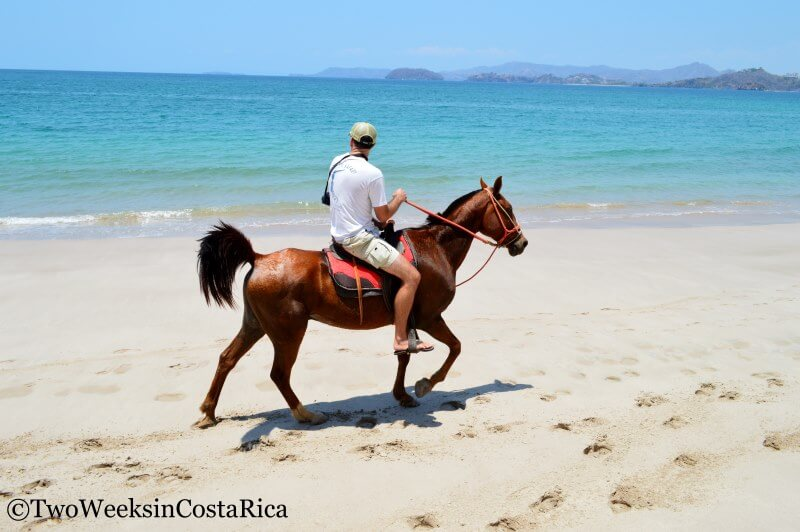 Horseback Riding at Playa Conchal | Two Weeks in Costa Rica