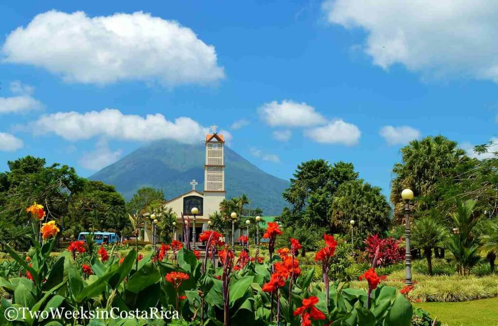La Fortuna Central Park and Garden | Two Weeks in Costa Rica