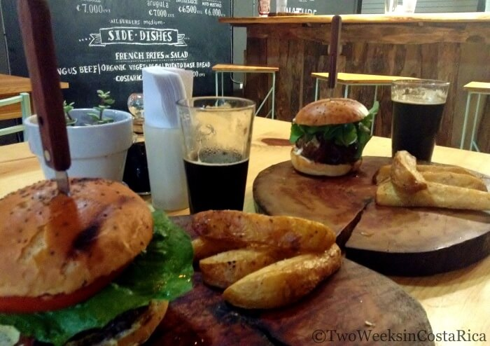 Burgers and Beers Nosara | Two Weeks in Costa Rica