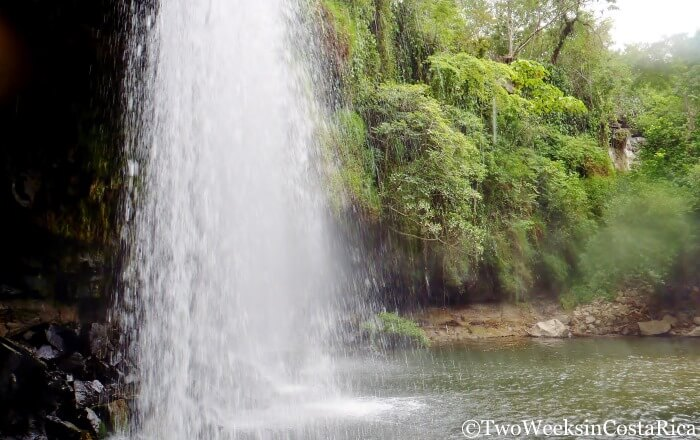 Llanos de Cortez Behind Waterfall | Two Weeks in Costa Rica