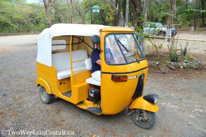 Tuk-Tuk in Nosara | Two Weeks in Costa Rica