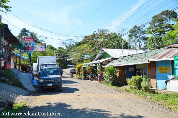Drake Bay Town Picture | Two Weeks in Costa Rica