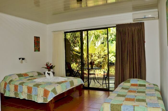 Cost of Travelling in Costa Rica | Typical hotel with AC for under $100