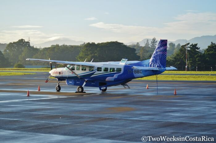 Cost of Traveling in Costa Rica | Small planes can save time and be affordable