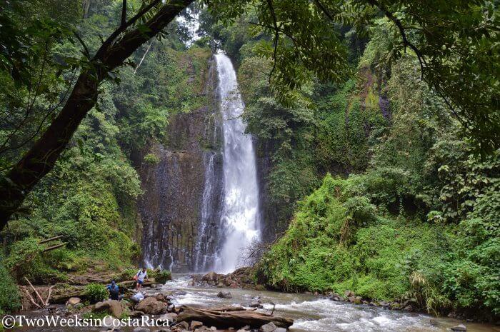 Los Chorros Waterfalls near Grecia, Costa Rica