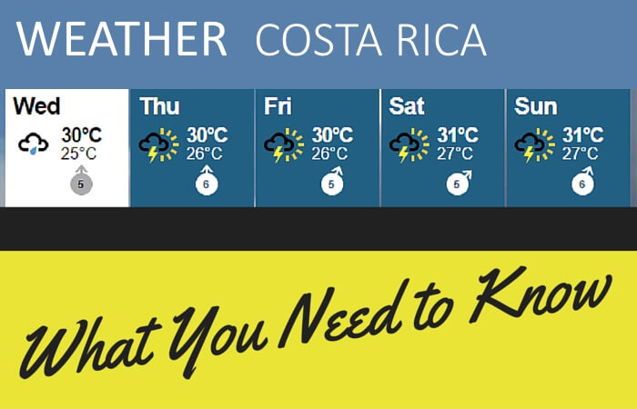 Weather In Costa Rica What You Need To Know