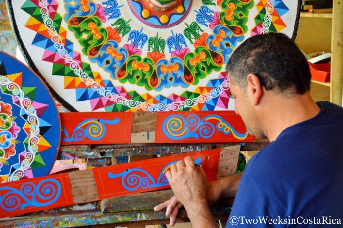Visiting an oxcart factory in Sarchi | Two Weeks in Costa Rica