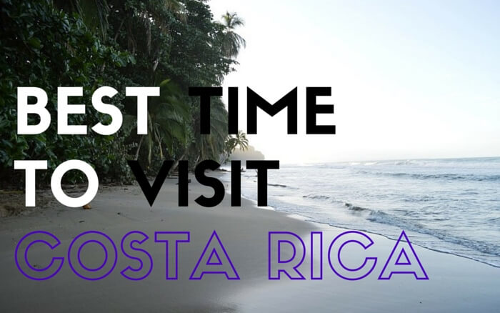 Best Times To Travel To Cost Rica