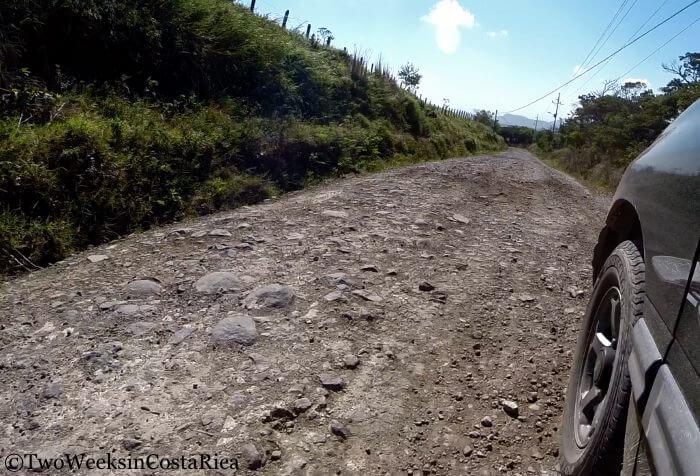Road Between La Fortuna and Monteverde | Two Weeks in Costa Rica