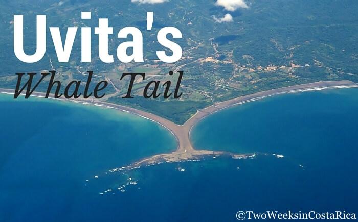 The Whale Tail at Uvita's Marino Ballena National Park