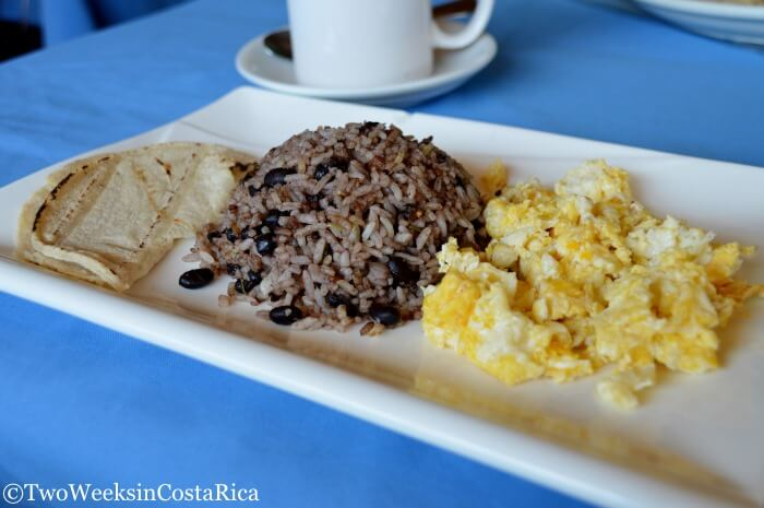 Traditional Costa Rican Food