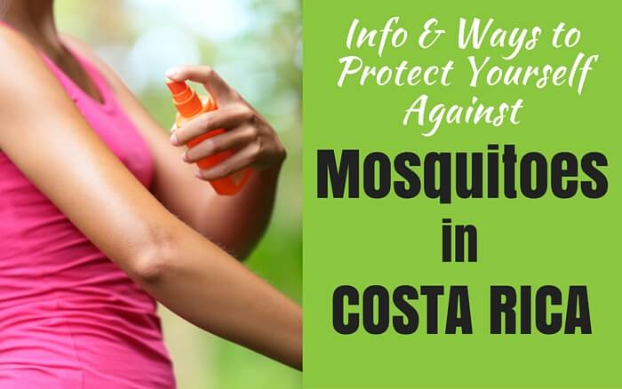 Costa Rica and Mosquitoes: Tips to prevent Zika, Dengue, and more | Two Weeks in Costa Rica