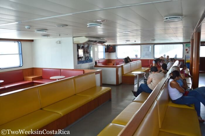 Taking the Puntarenas-Paquera Ferry - Inside the Ferry | Two Weeks in Costa Rica