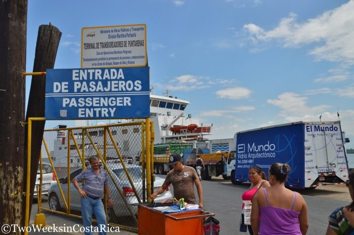 Taking the Puntarenas-Paquera Ferry - How to Drive Aboard | Two Weeks in Costa Rica