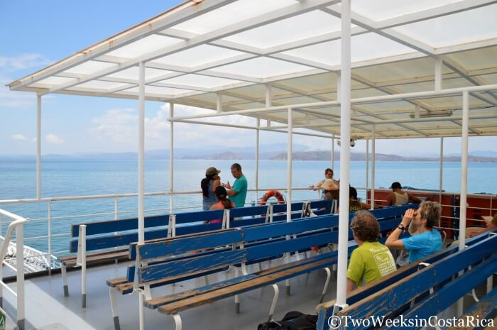 Taking the Puntarenas-Paquera Ferry - The Ride | Two Weeks in Costa Rica