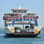 Taking the Puntarenas-Paquera Ferry