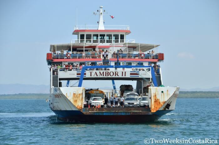 Taking the Puntarenas-Paquera Ferry | Two Weeks in Costa Rica