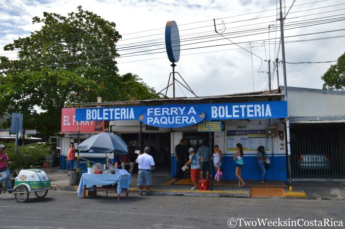 Taking the Puntarenas-Paquera Ferry - Finding the Ticket Office | Two Weeks in Costa Rica