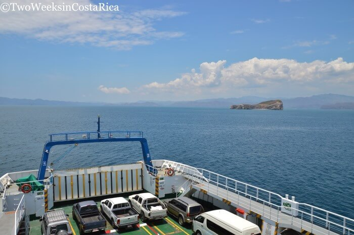 Taking the Puntarenas-Paquera Ferry Views of the Gulf | Two Weeks in Costa Rica