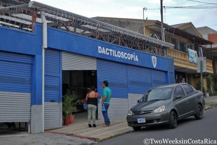 Dactiloscopia - Fingerprint Registry Costa Rica
