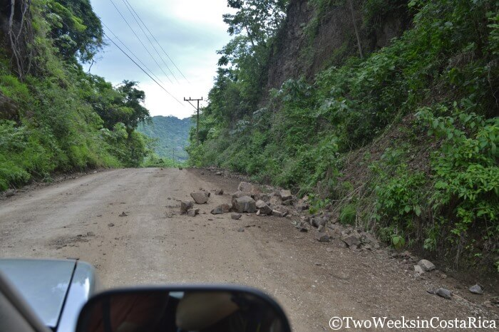 Road Conditions of Specific Routes in Costa Rica - Two Weeks