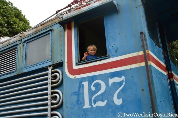 Atenas Costa Rica -Train Museum (Museo Ferroviaro Rio Grande)